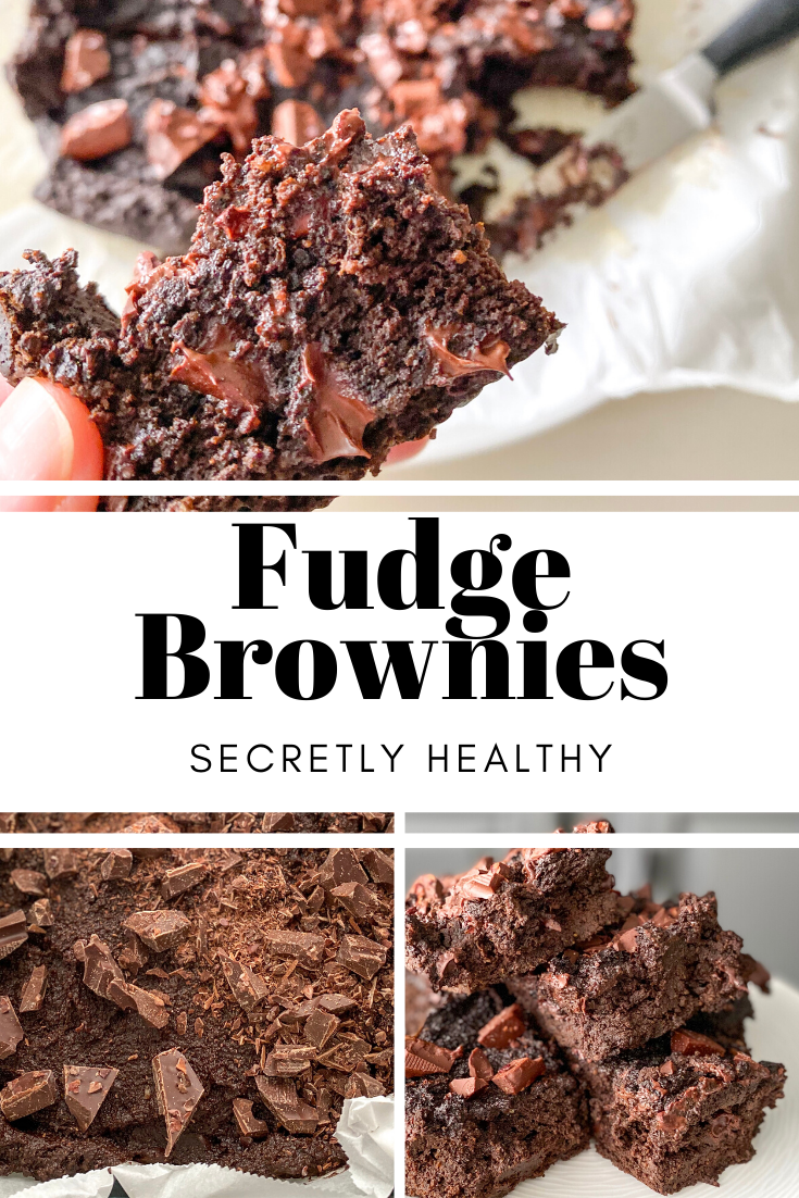 PALEO + gluten-free, and contain a super-secret ingredient that makes them RICH in Vitamin A and fiber. You only need one bowl to make these HEALTHY FUDGE BROWNIES!