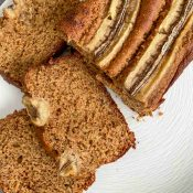 Secretly Healthy Banana Bread (Gluten-free)