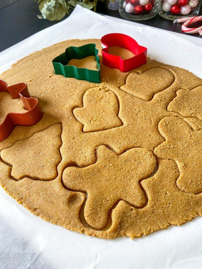 gluten-free almond flour sugar cookies