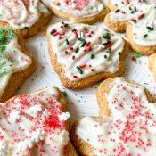 Healthy Sugar Cookies (Refined Sugar-Free)