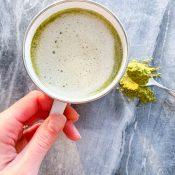 Matcha Latte (Metabolism Boosting)