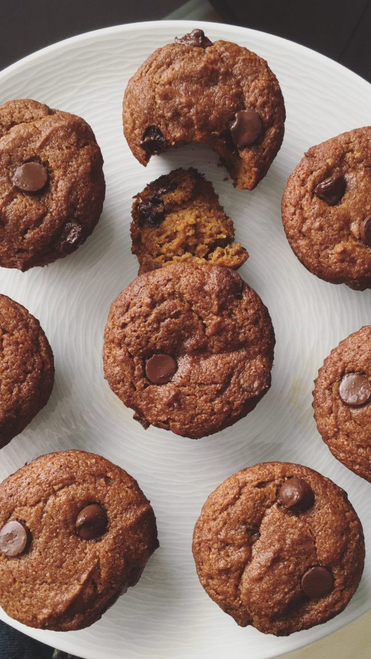 Healthy Pumpkin Muffins (Whole Wheat)