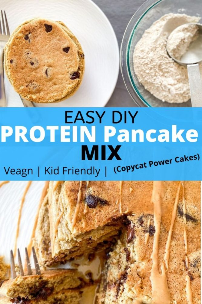 protein pancake mix pinterest pin