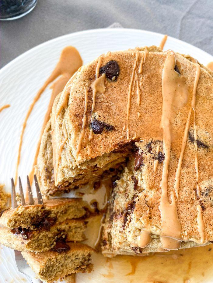 protein pancakes easy vegan