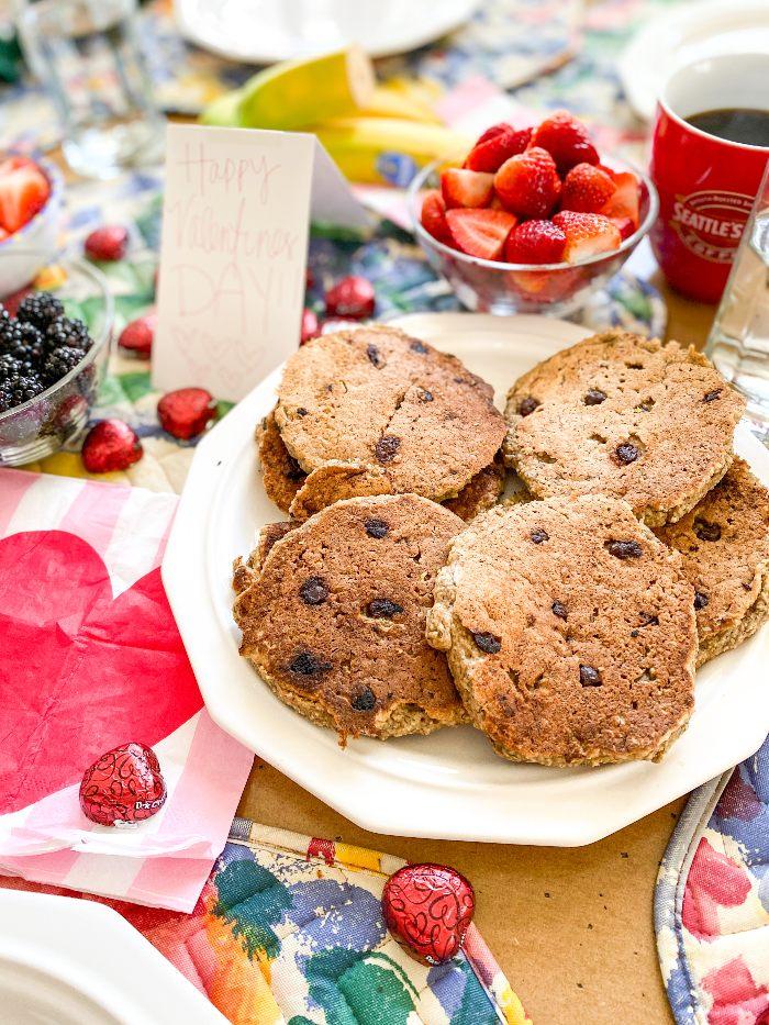 Vegan Banana Bread Gluten-Free Protein Pancakes