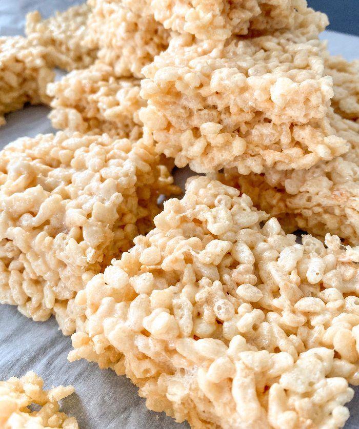healthy rice krispies