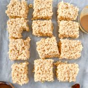 Healthy Rice Krispie Treats (Corn Syrup Free!)