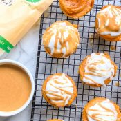 Mini Sweet Potato Pies (5 ingredients!)