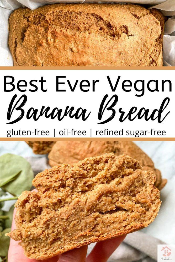 Best Vegan banana bread recipe