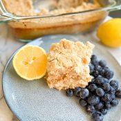 Lemon Baked Oatmeal (Vegan + Gluten-Free)