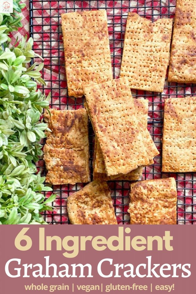 6 ingredient graham cracker recipe