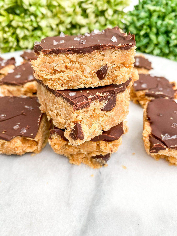 Peanut Butter Cookie Dough Bars (2)