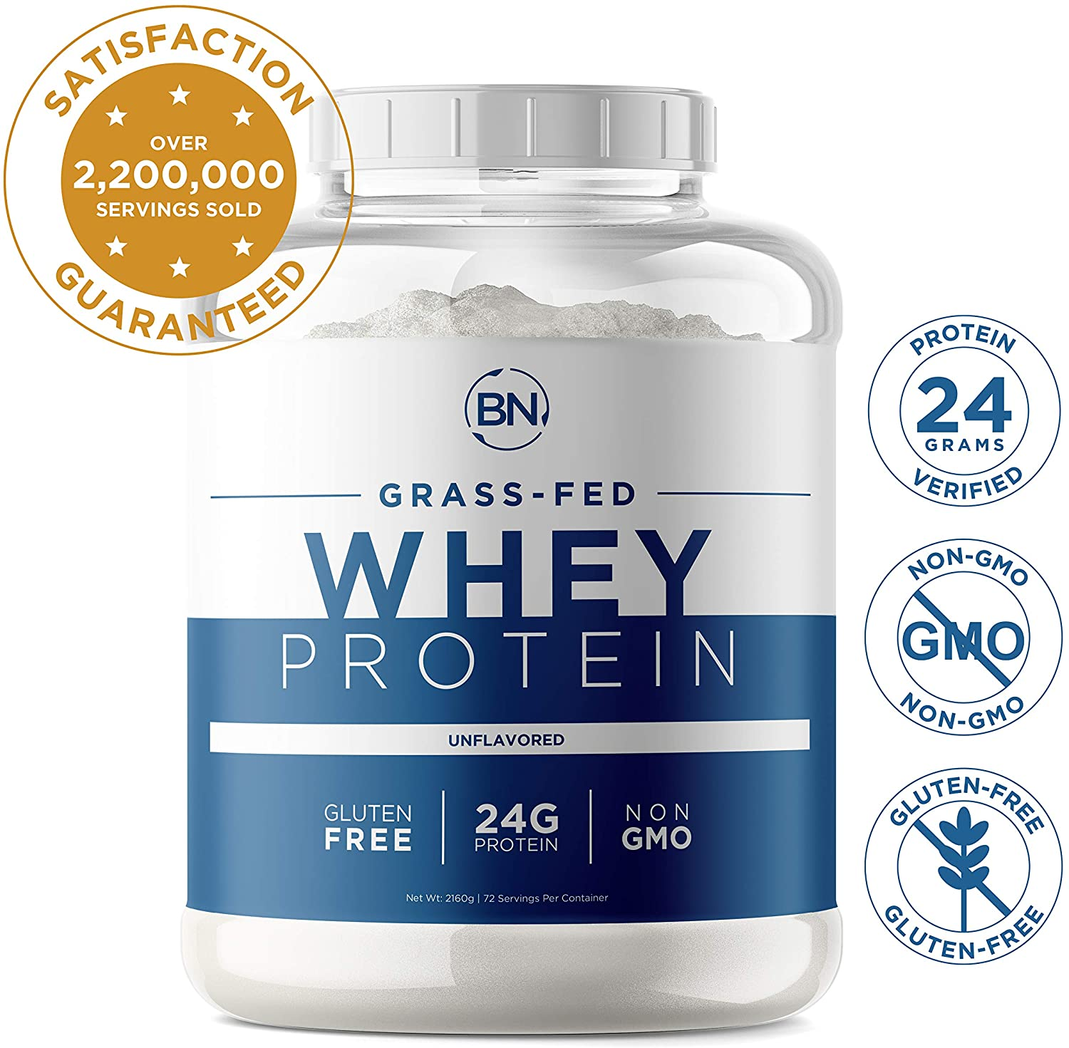 Grass-Fed Whey Protein Powder