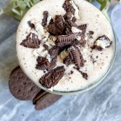 Healthy Cookies And Cream Protein Shake