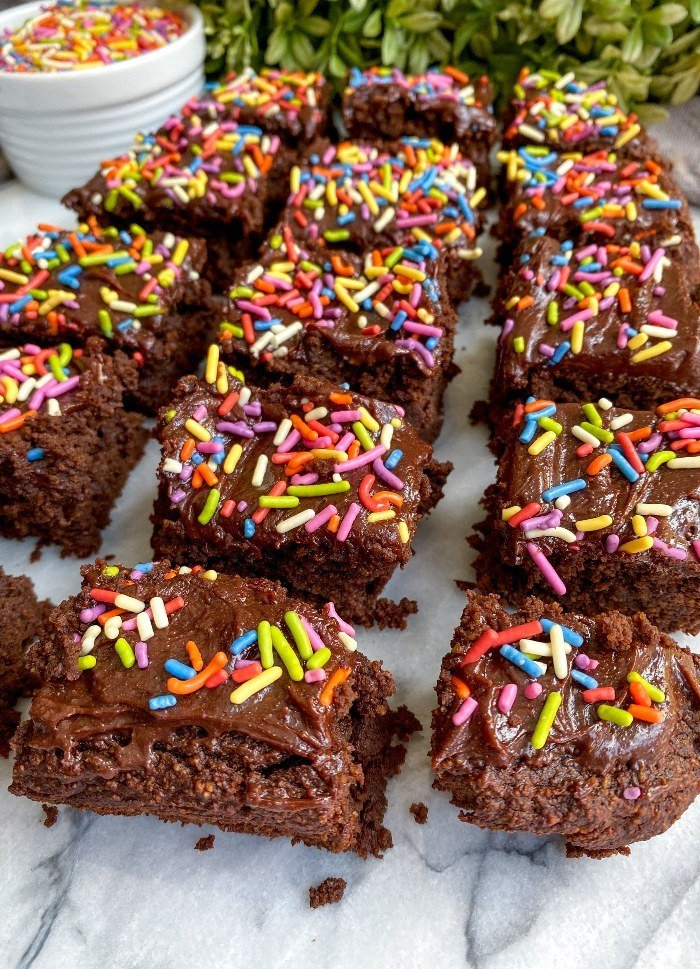 healthy cosmic brownies