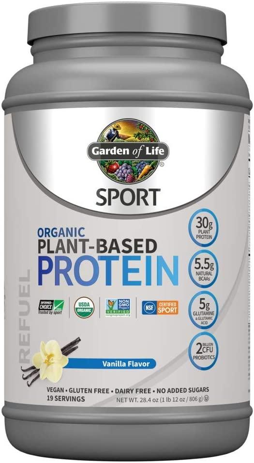 Vanilla Plant Based Protein Powder