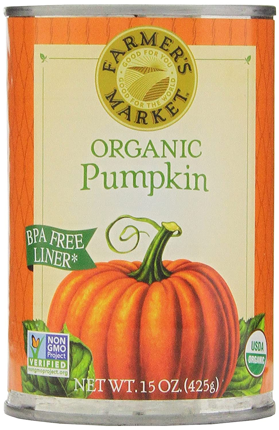 Organic Canned Pumpkin Puree