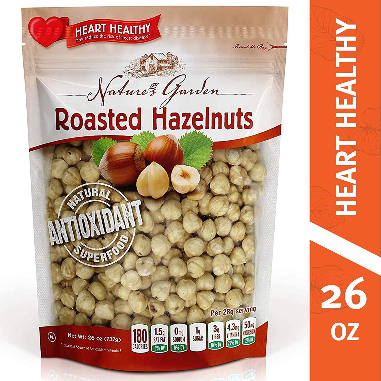 Roasted, Peeled Hazelnuts