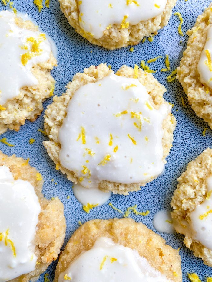 vegan lemon cookies