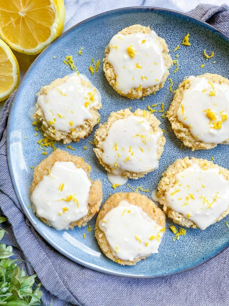 vegan gluten-free lemon cookies