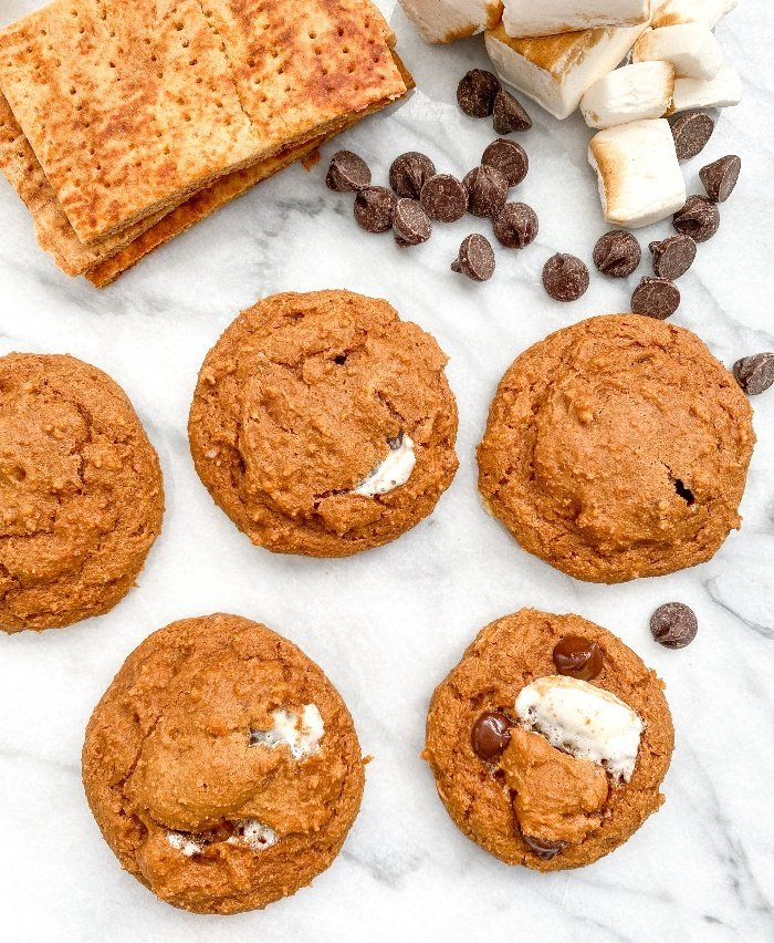 s'mores cookies easy
