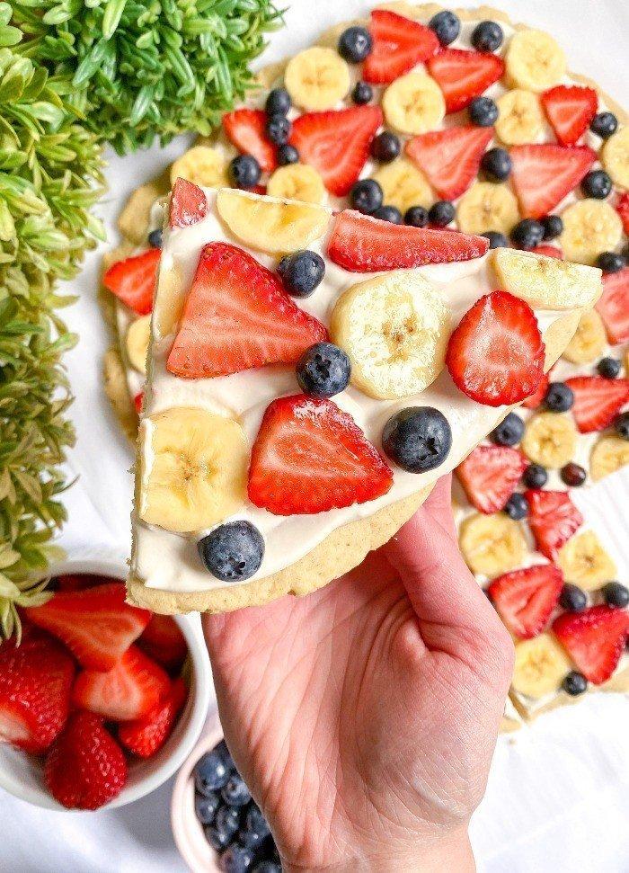best healthy fruit pizza