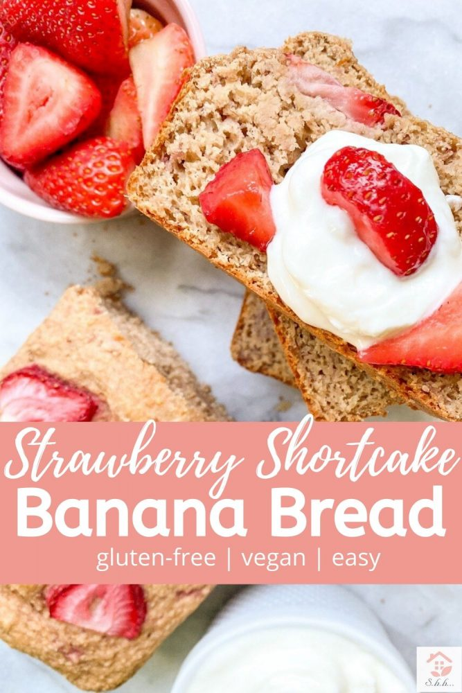 strawberry shortcake banana bread pinterest