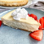 The Best Healthy Cheesecake Recipe