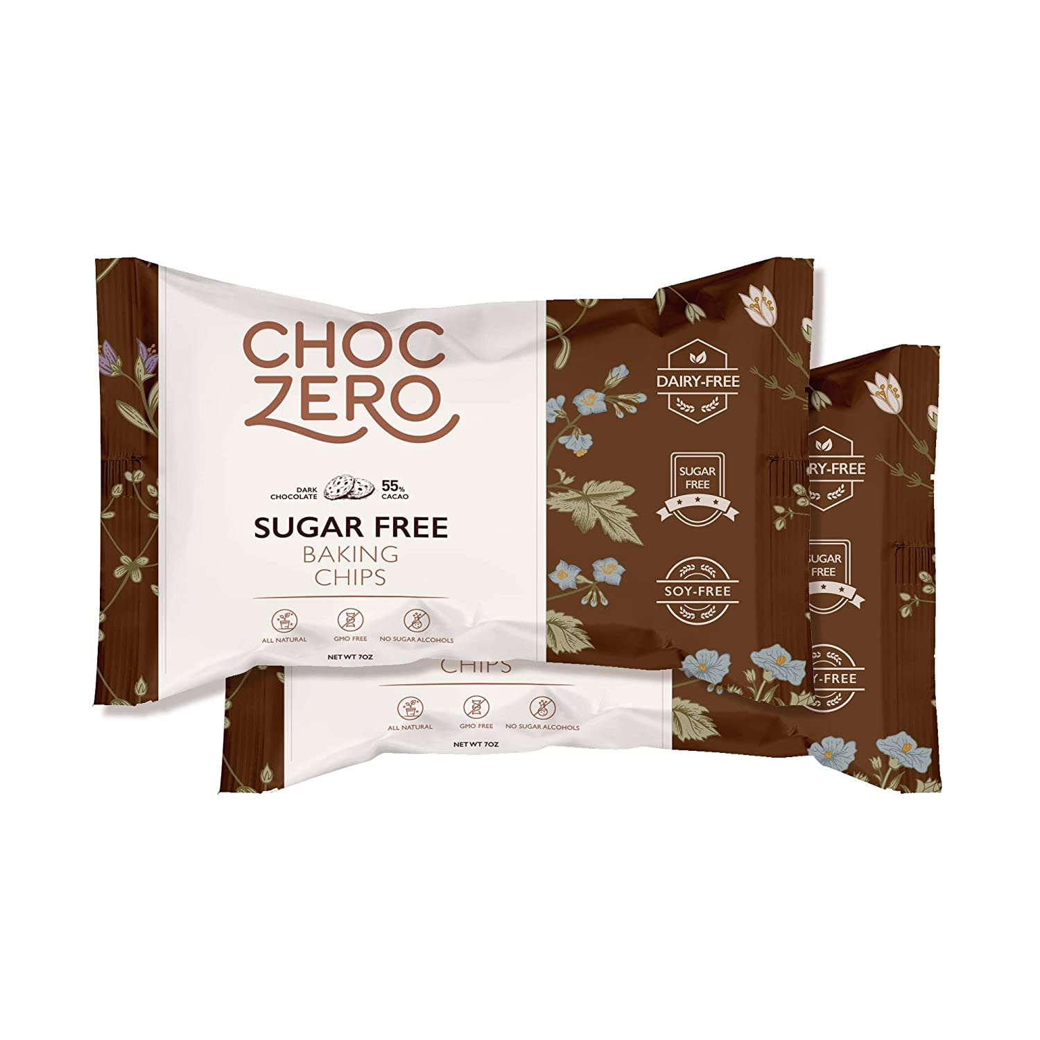 Keto Sugar-Free Dark Chocolate Chips
