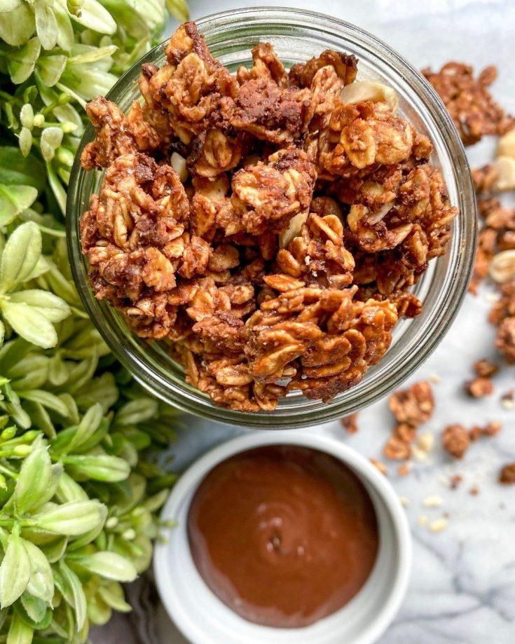 Nutella Granola Recipe