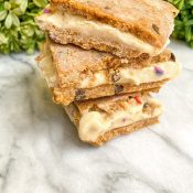 Vegan Cookie Dough Ice Cream Sandwiches (GF)