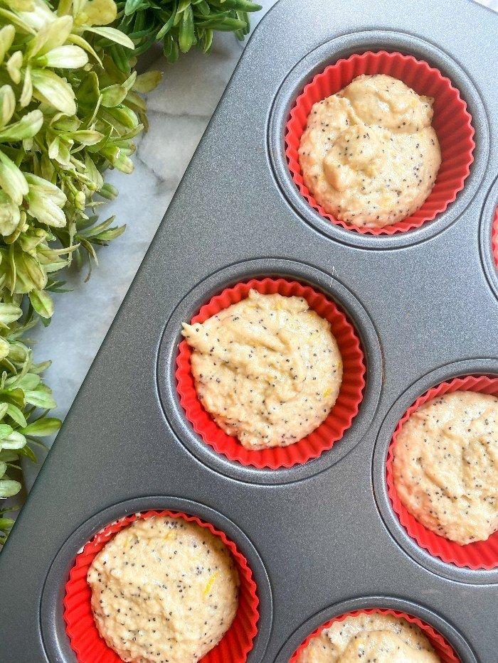 lemon poppy seed muffins gluten free