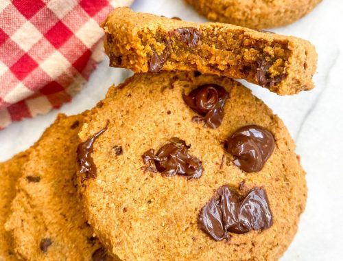vegan pumpkin cookies