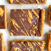 No-Bake Peanut Butter Pumpkin Bars