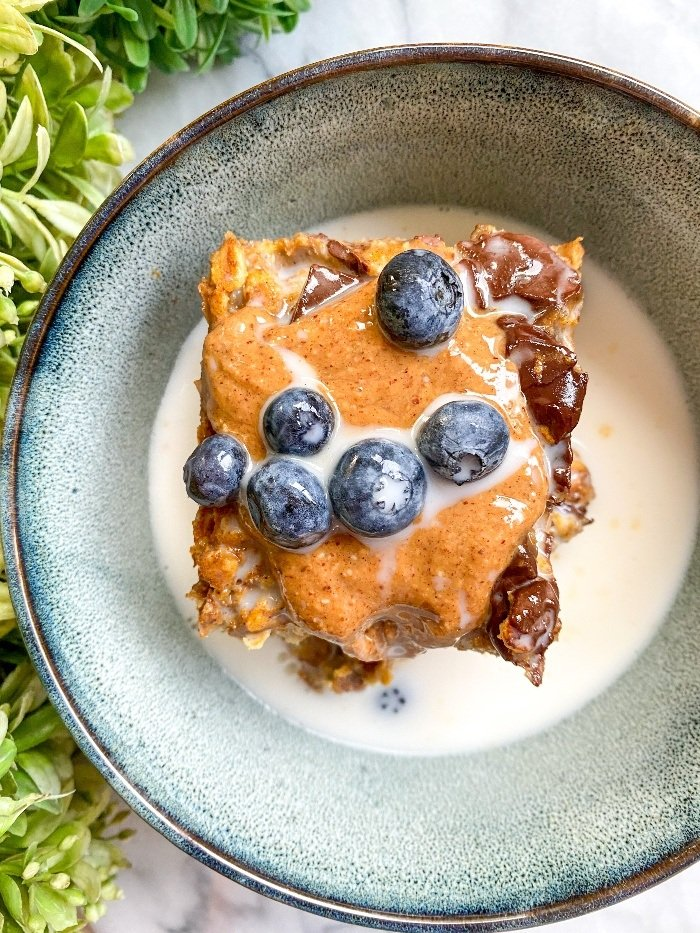 protein pumpkin oatmeal