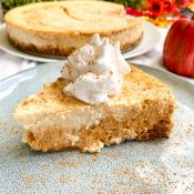 Secretly Healthy Pumpkin Cheesecake (Low-Fat!)