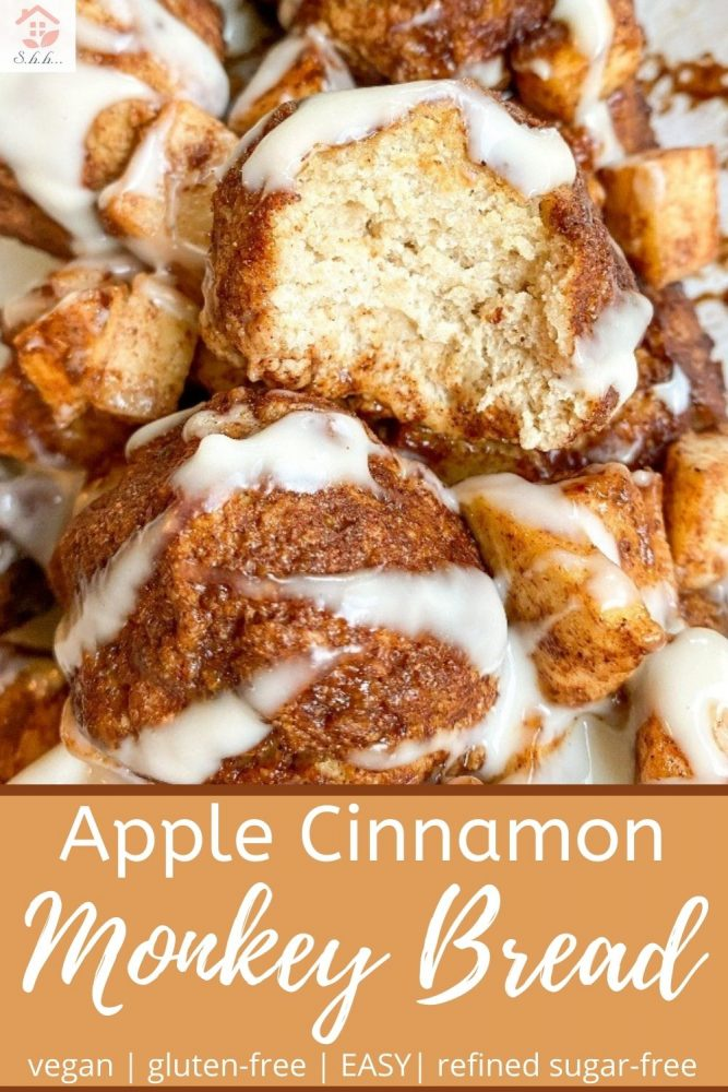 apple cinnamon monkey bread pinterest image