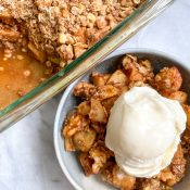 Best Healthy Apple Crisp (Easy + Gluten-Free)