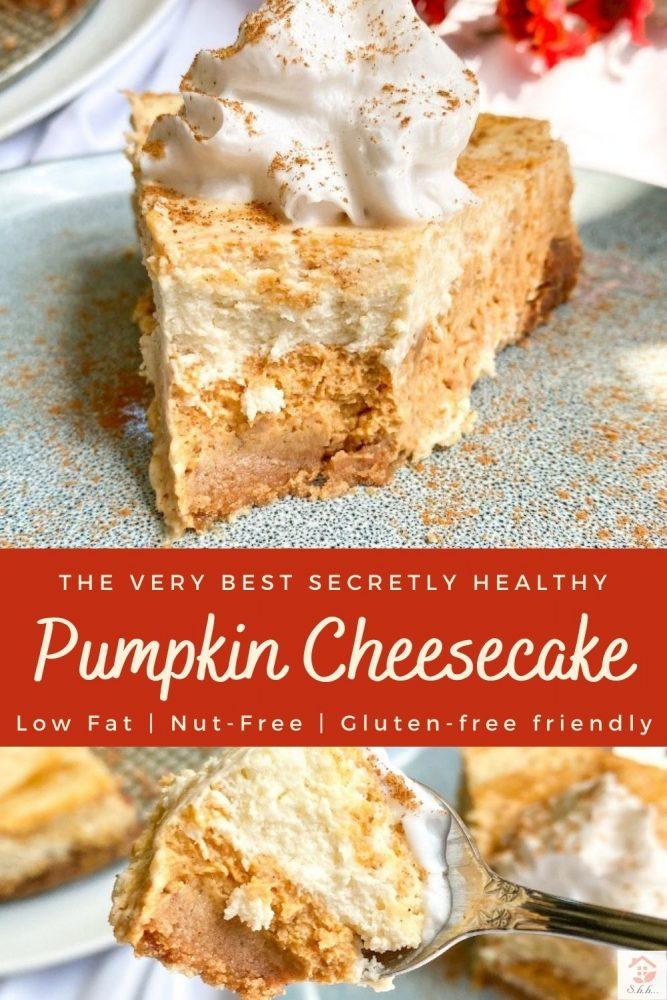 pumpkin cheesecake pinterest image