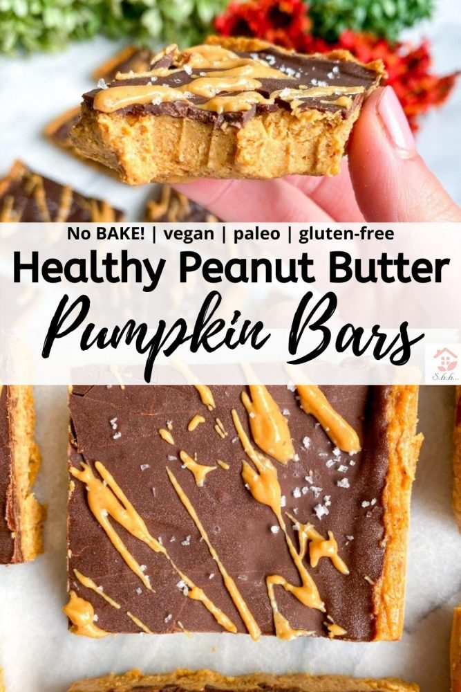 peanut butter pumpkin bars pinterest save image