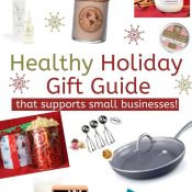 Healthy Holiday Gift Guide 2020 (Small Businesses!)