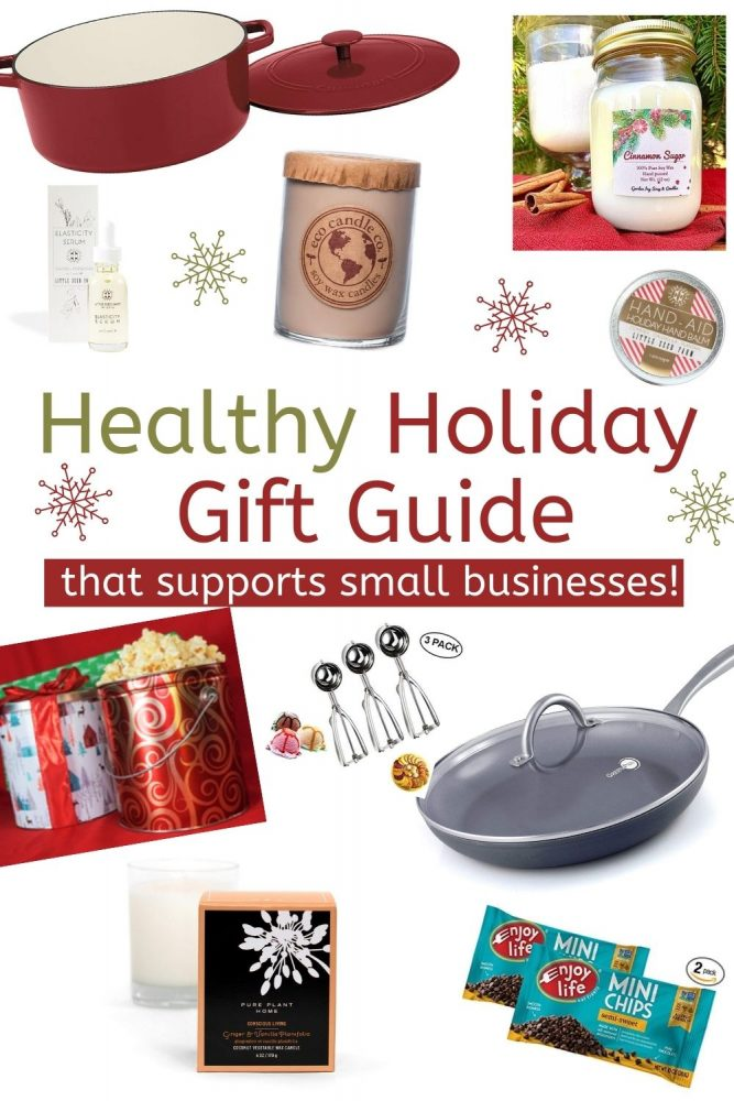 healthy holiday gift guide pinterest pin