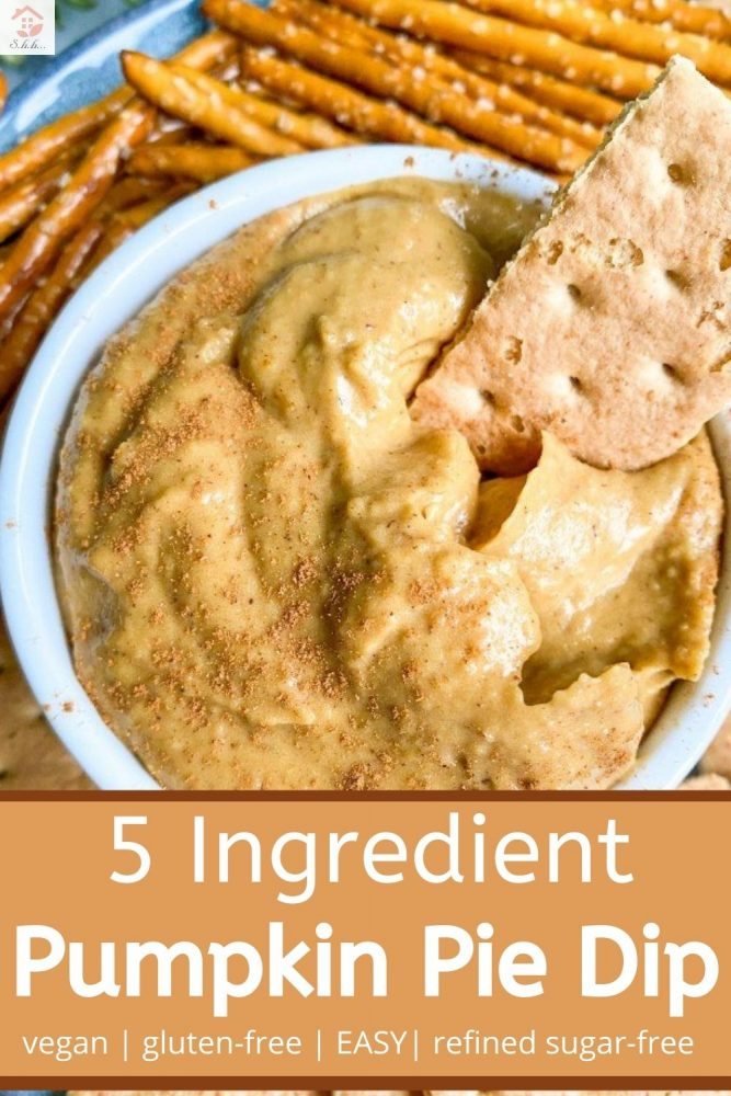 5 ingredient pumpkin dip nut-free