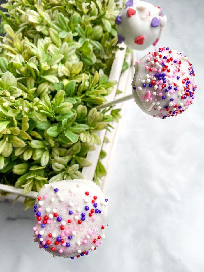 gluten free red velvet cake balls