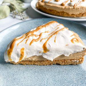 No bake healthy peanut butter pie