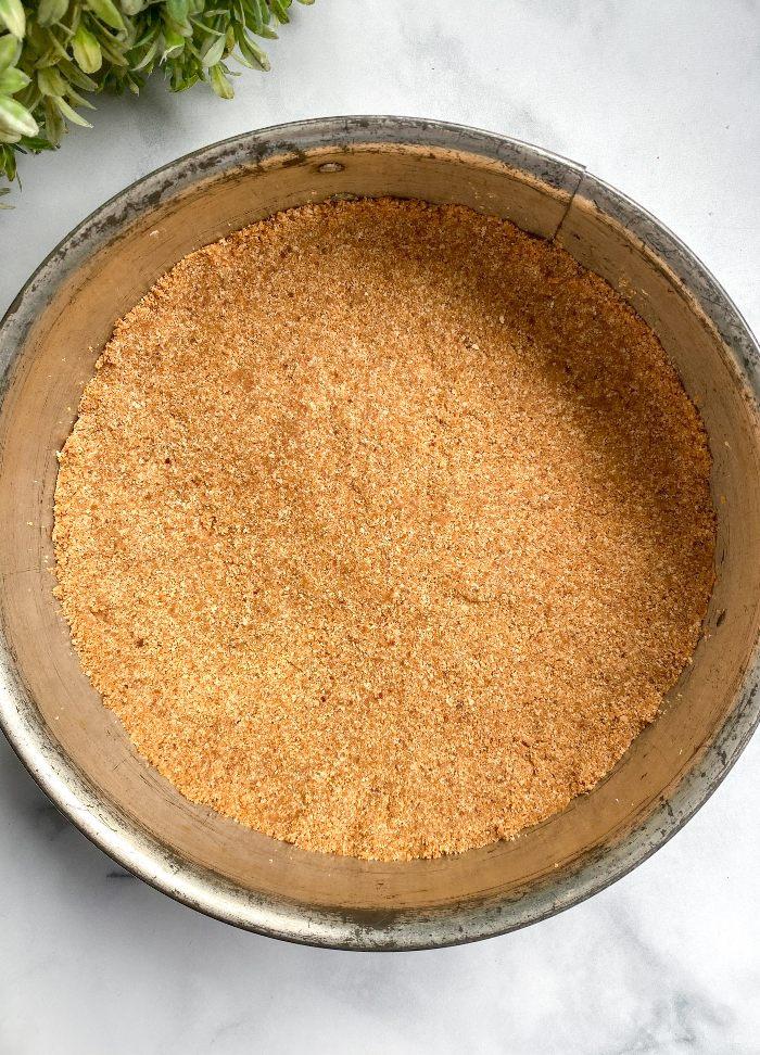 healthy graham cracker crust