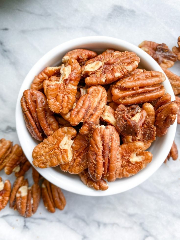healthy candied pecans