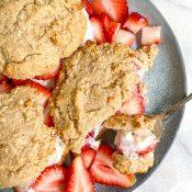 Gluten-Free Strawberry Shortcake (Vegan + Easy!)