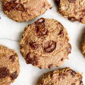 Banana Cookies (Quick + Gluten-Free + Chewy!)